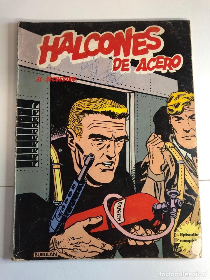HALCONES DE ACERO EL SECUESTRO (Tebeos y Comics - Buru-Lan - Halcones de Acero)