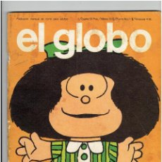 Cómics: *EL GLOBO Nº 1 * EDI. BURULAN 1973 * MAFALDA, LI'L ABNER, EL ETERNAUTA DE ALBERTO BRECIA - SPIRIT *. Lote 225769670