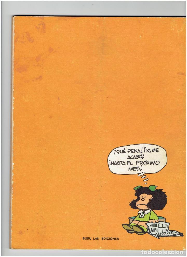 Cómics: *EL GLOBO Nº 1 * EDI. BURULAN 1973 * MAFALDA, LIL ABNER, EL ETERNAUTA de ALBERTO BRECIA - SPIRIT * - Foto 2 - 225769670
