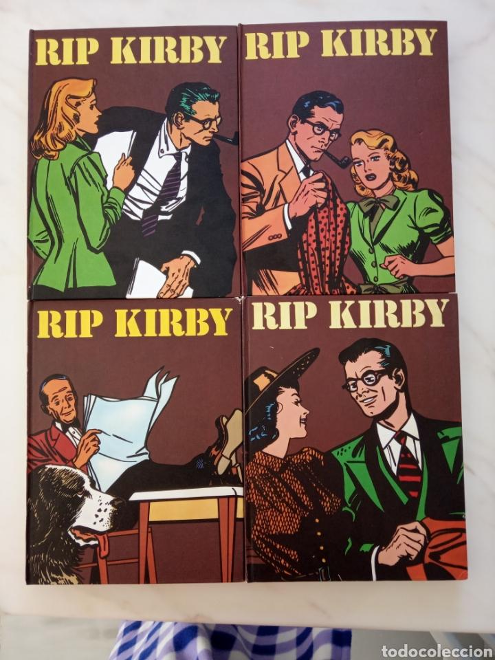 COLECCIÓN COMPLETA RIP KIRBY EDITORIAL BURULAN AÑO 1973 (Tebeos y Comics - Buru-Lan - Rip Kirby)