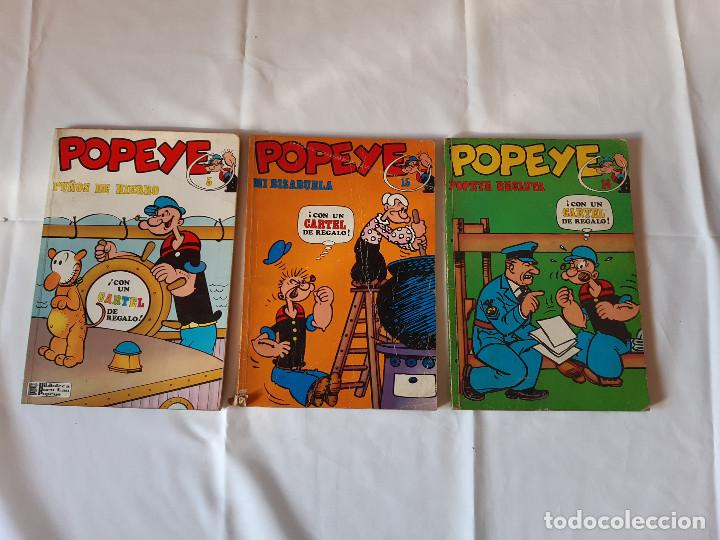 LOTE 3 COMICS POPEYE. NUMEROS 5, 13 Y 14. BURU LAN EDICIONES. (Tebeos y Comics - Buru-Lan - Popeye)