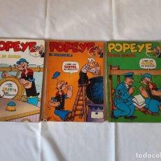 Cómics: LOTE 3 COMICS POPEYE. NUMEROS 5, 13 Y 14. BURU LAN EDICIONES.. Lote 225986897