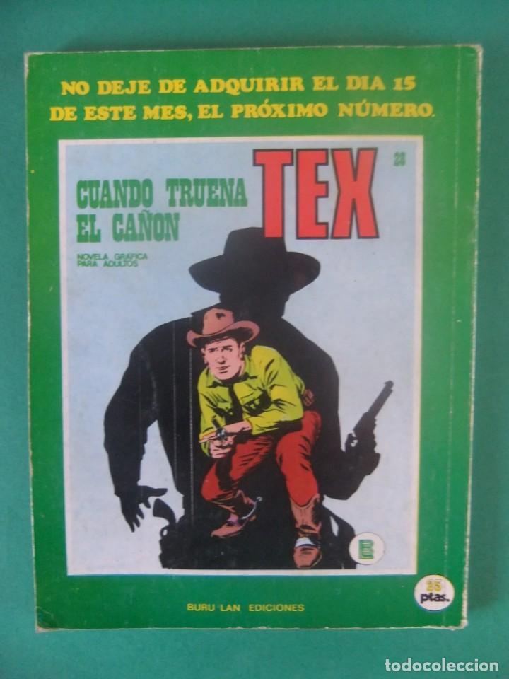 Cómics: TEX Nº 23 DE 25 PTS BURU LAN - Foto 2 - 226249095