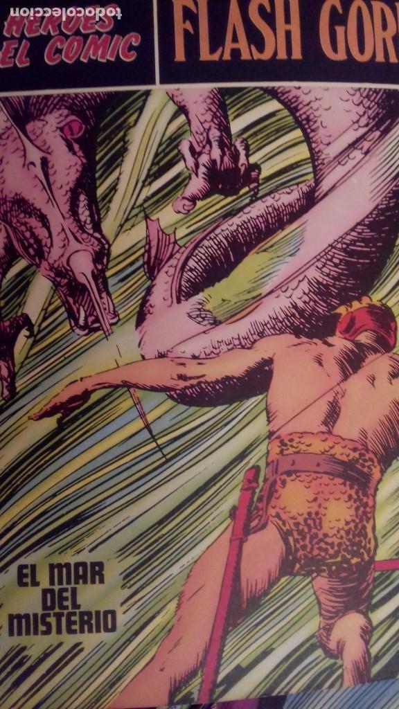 Cómics: 10 Fasciculos FLASH GORDON Buru Lan Tomo 01 : 01 al 010. 1972. - Foto 4 - 226382867