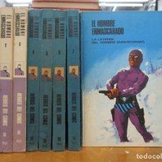Cómics: COLECCION COMPLETA / EL HOMBRE ENMASCARDO / 8 TOMOS. Lote 226464295