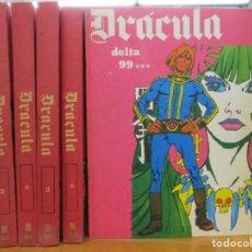 Cómics: COLECCION DRACULA - 5 TOMOS - DELTA 99 - 5 POR INFINITO - BURULAN. Lote 226466015