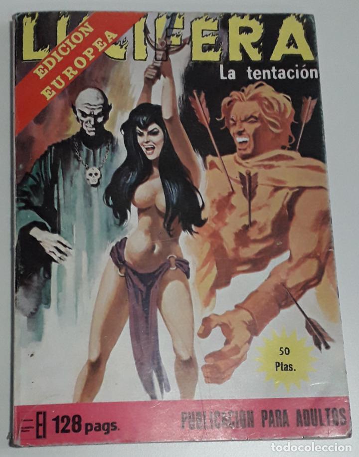 COMIC ELVIBERIA LUCIFERA 23 LA TENTACION (Tebeos y Comics - Buru-Lan - Tex)