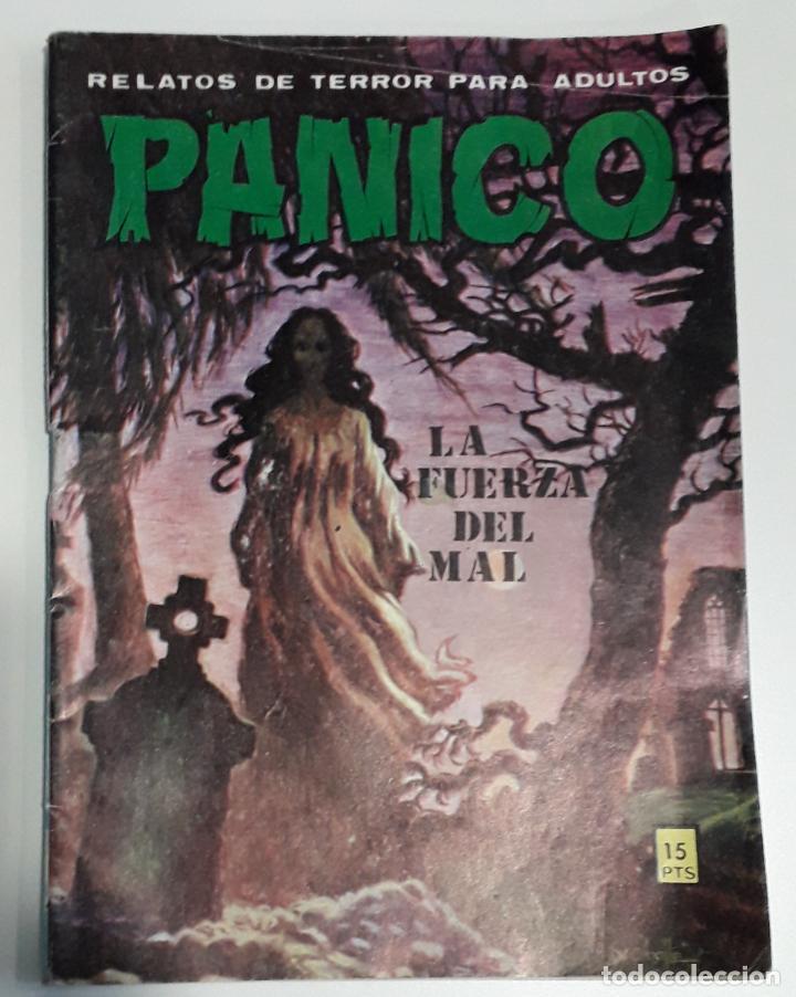 COMIC TERROR VILMAR PANICO 74 LA FUERZA DEL MAL (Tebeos y Comics - Buru-Lan - Tex)