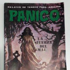 Cómics: COMIC TERROR VILMAR PANICO 74 LA FUERZA DEL MAL. Lote 226597685