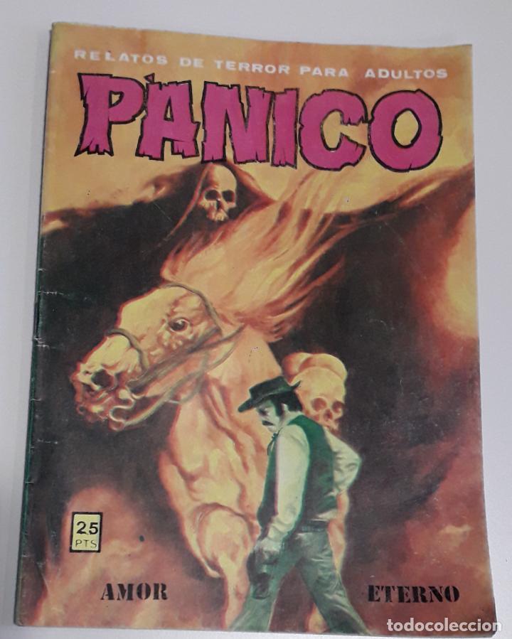 COMIC TERROR VILMAR PANICO AMOR ETERNO (Tebeos y Comics - Buru-Lan - Tex)
