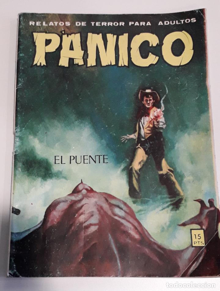 COMIC TERROR VILMAR PANICO 79 EL PUENTE (Tebeos y Comics - Buru-Lan - Tex)