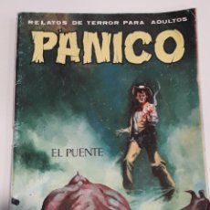 Cómics: COMIC TERROR VILMAR PANICO 79 EL PUENTE. Lote 226600720