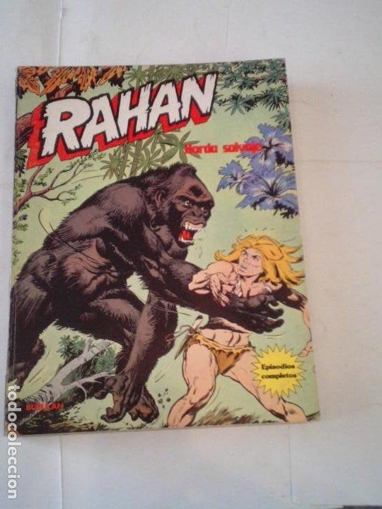 RAHAN - BURU LAN - EPISODIOS COMPLETOS - COLECCION COMPLETA - 5 RETAPADOS - BUEN ESTADO - CJ 129 (Tebeos y Comics - Buru-Lan - Rahan)