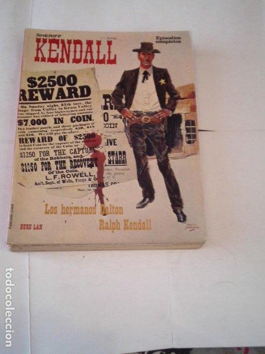SHERIFF KENDALL - BURU LAN EPISODIOS COMPLETOS - COLECCION COMPLETA - BUEN ESTADO - CJ 129 (Tebeos y Comics - Buru-Lan - Rahan)
