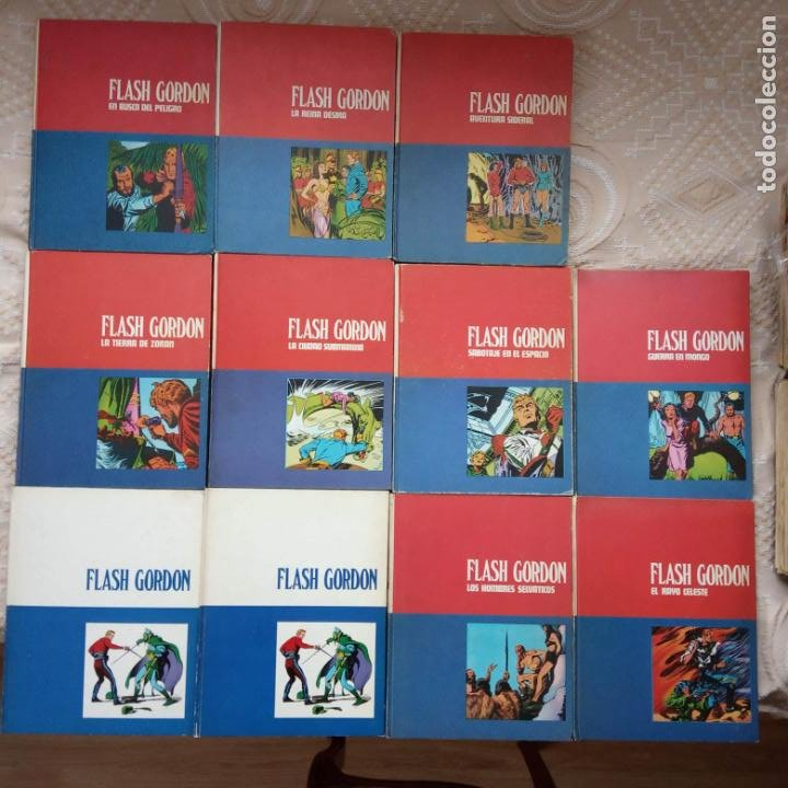 Cómics: FLASH GORDON BURULAN TOMOS COMPLETA , 01,02,1,2,3,4,5,6,7,8,9 - Foto 3 - 227581435