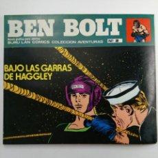 Cómics: BEN BOLT Nº 2 - BAJO LAS GARRAS DE HAGGLEY. Lote 227850755
