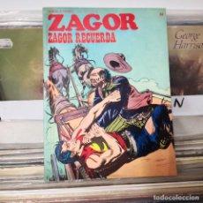 Cómics: ZAGOR BURU LAN - ZAGOR RECUERDA - Nº 64 - BUEN ESTADO. Lote 228037591
