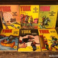 Comics: COLECCIÓN YORK - COMPLETA 6 TOMOS - BURULAN 1971. Lote 228175525