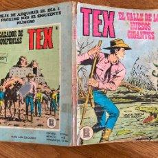Cómics: TEX Nº 60 - EL VALLE DE LOS HUESOS GIGANTES - BURULAN - GCH1. Lote 228269995