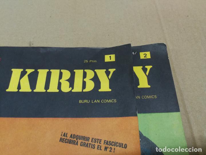 Cómics: RIP KIRBY Nº 1.Y 2 FASCICULO HEROES DEL COMIC. BURU LAN EDICIONES - Foto 2 - 228405310