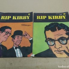 Cómics: RIP KIRBY Nº 1.Y 2 FASCICULO HEROES DEL COMIC. BURU LAN EDICIONES. Lote 228405310