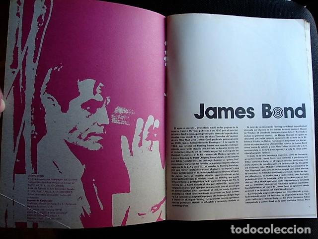 Cómics: JAMES BOND, TOMO I: A TRAVÉS DEL MURO. COLECCIÓN AGENTES SECRETOS. BURU LAN EDICIONES, 1973 - Foto 3 - 228740820