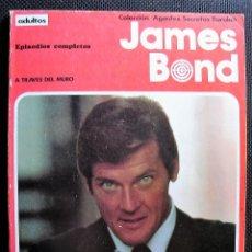 Cómics: JAMES BOND, TOMO I: A TRAVÉS DEL MURO. COLECCIÓN AGENTES SECRETOS. BURU LAN EDICIONES, 1973. Lote 228740820