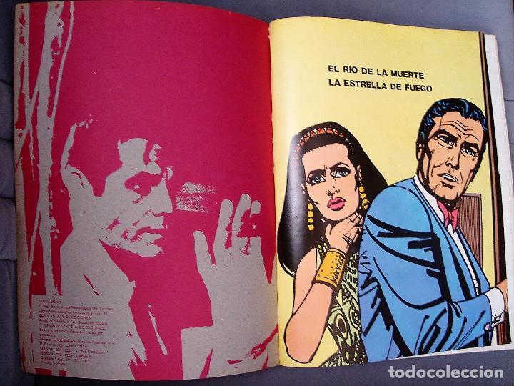 Cómics: JAMES BOND, TOMO III: EL RÍO DE LA MUERTE. COLECCIÓN AGENTES SECRETOS. BURU LAN EDICIONES, 1973 - Foto 3 - 228743450