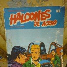 Cómics: HÉROES DEL COMIC: ALCONES DE ACERO, TOMO I, FASCÍCULO 6. EDICIONES BURU LAN 1.974.. Lote 229162740