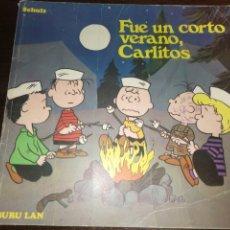 Cómics: LIBRO CHARLIE BROWN (1972) ,PRIMERA EDICIÓN, EN CASTELLANO.NÚMERO 5, SCHULZ. Lote 229262400
