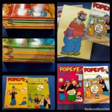 Fumetti: LOTE DE LOS 25 PRIMEROS-POPEYE - TODOS CON POSTER -. Lote 229657350