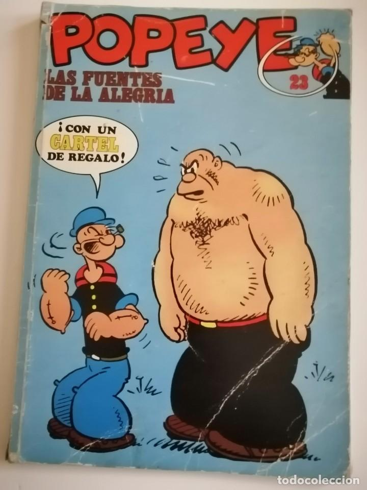 CÓMIC POPEYE N°23. LAS FUENTES DE LA ALEGRÍA. AÑOS 70 (Tebeos y Comics - Buru-Lan - Popeye)