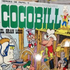 Cómics: COCOBILL COCO BILL 5 - HEROES DE PAPEL 5 BURULAN . RUSTICA. Lote 230243725