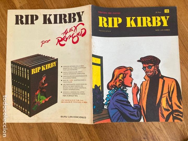¡LIQUIDACION TEBEO! PEDIDO MINIMO 5 EUROS - HEROES DEL COMIC / RIP KIRBY 13 - BURU LAN - GCH1 (Tebeos y Comics - Buru-Lan - Rip Kirby)