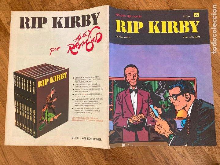 ¡LIQUIDACION TEBEO! PEDIDO MINIMO 5 EUROS - HEROES DEL COMIC / RIP KIRBY 22 - BURU LAN - GCH1 (Tebeos y Comics - Buru-Lan - Rip Kirby)