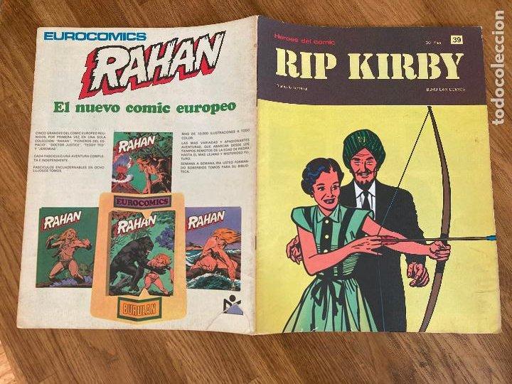 ¡LIQUIDACION TEBEO! PEDIDO MINIMO 5 EUROS - HEROES DEL COMIC / RIP KIRBY 39 - BURU LAN - GCH1 (Tebeos y Comics - Buru-Lan - Rip Kirby)