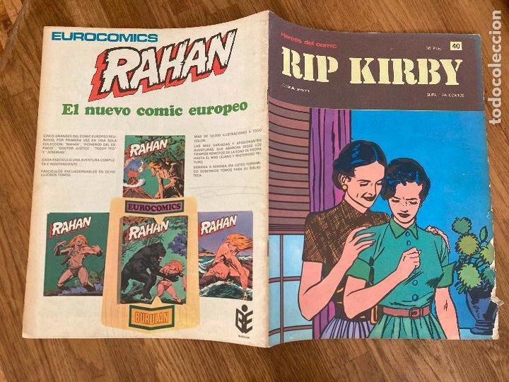 ¡LIQUIDACION TEBEO! PEDIDO MINIMO 5 EUROS - HEROES DEL COMIC / RIP KIRBY 40 - BURU LAN - GCH1 (Tebeos y Comics - Buru-Lan - Rip Kirby)