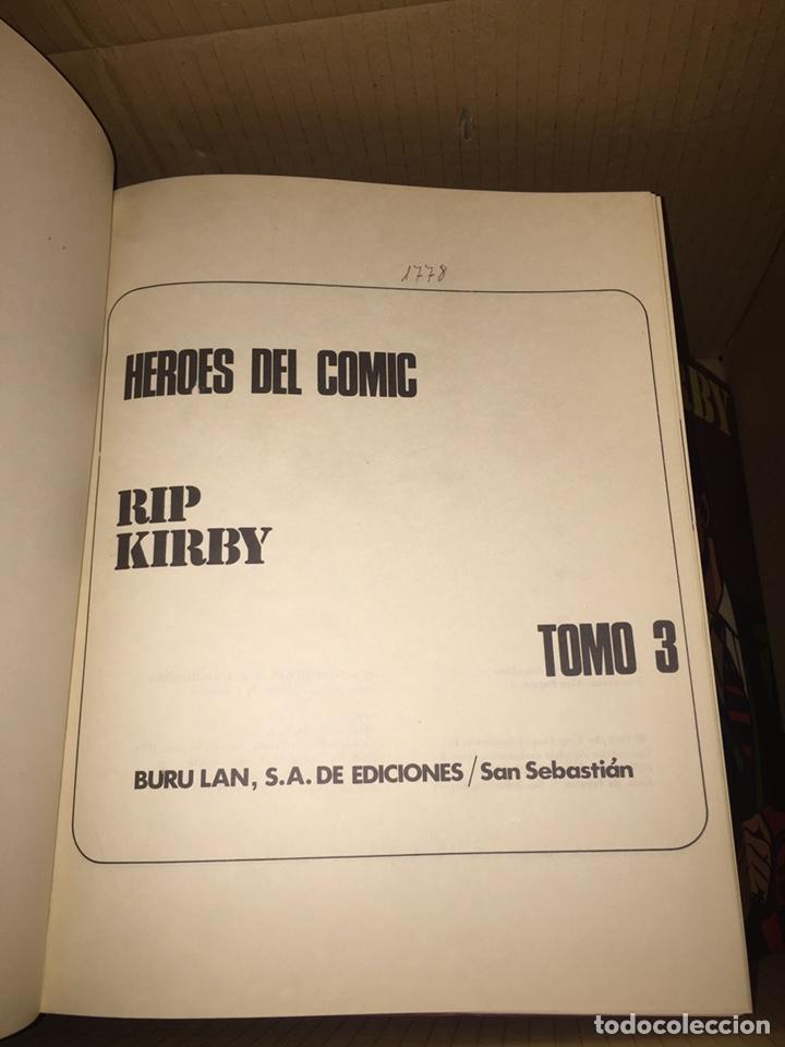 Cómics: RIP KIRBY N•3 HÉROES DEL CÓMIC BURU LAN - Foto 2 - 230787885