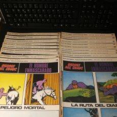 Cómics: HEROES DEL COMIC. EL HOMBRE ENMASCARADO. 18 NUMEROS. BURU LAN. Lote 231122595