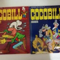 Cómics: COCOBILL. HÉROES DE PAPEL 1 Y 3, COCOHUG Y COCOBILLIPUT. 1973. (BURULAN). Lote 231692610