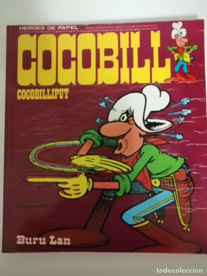 Cómics: Cocobill. Héroes de Papel 1 y 3, Cocohug y Cocobilliput. 1973. (Burulan) - Foto 2 - 231692610