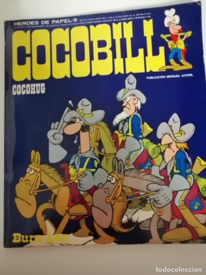 Cómics: Cocobill. Héroes de Papel 1 y 3, Cocohug y Cocobilliput. 1973. (Burulan) - Foto 5 - 231692610