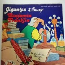 Cómics: GIGANTES DISNEY. BENJAMÍN FRANKLIN. WALT DISNEY PRODUCTIONS 50 AÑOS FELICES 1923-1973. Lote 231693775
