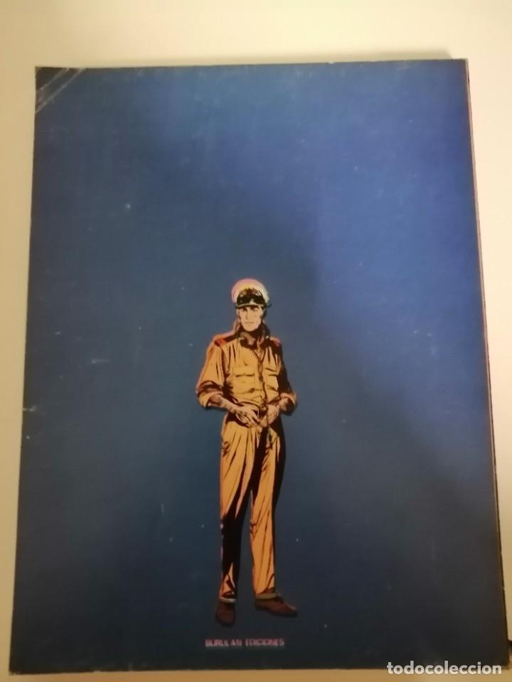 Cómics: 3 cómics halcones de acero: Piratas del aire- El secuestro- El plan de Mister Kinkade. Burulan 1974 - Foto 6 - 231918570