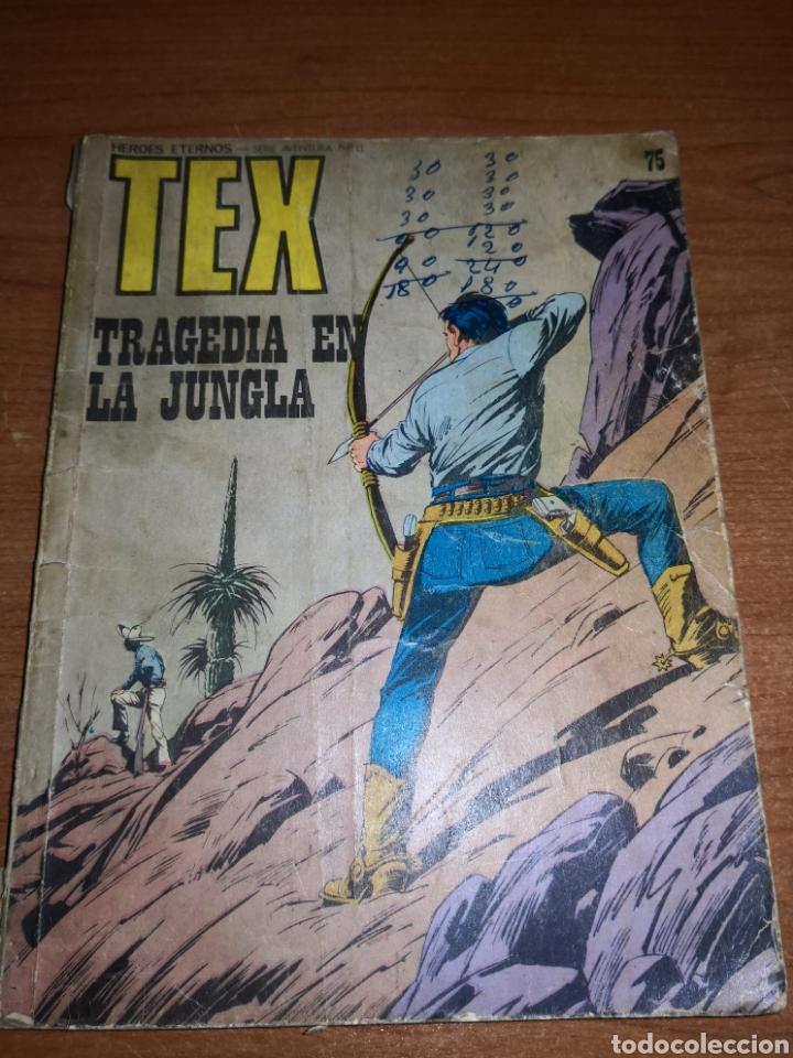 """TEX N°13 """"TRAGEDIA EN LA JUNGLA"""" DEFECTOS (Tebeos y Comics - Buru-Lan - Tex)"""