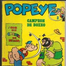 Cómics: POPEYE Nº 3 - CAMPEON DE BOXEO - BURU LAN 1970. Lote 233187810