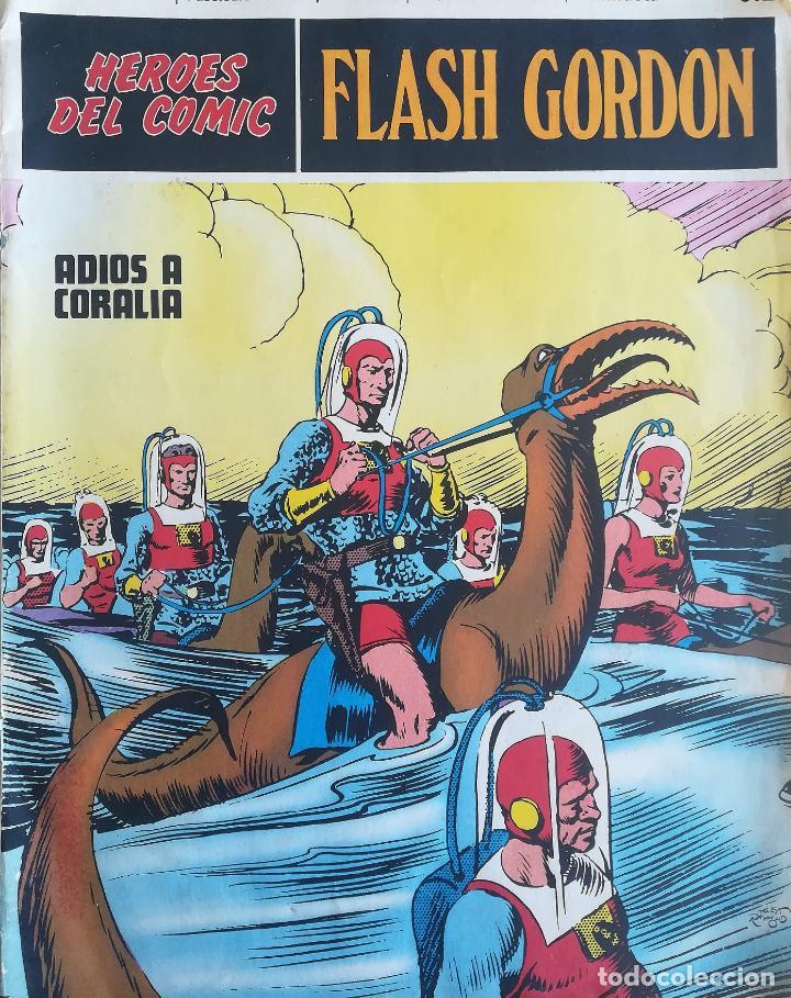 HEROES DEL COMIC FLASH GORDON ADIOS A CORALIA (Tebeos y Comics - Buru-Lan - Flash Gordon)