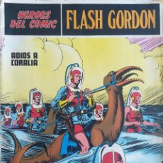 Cómics: HEROES DEL COMIC FLASH GORDON ADIOS A CORALIA. Lote 233288275
