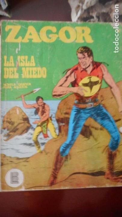 ZAGOR Nº 15 (Tebeos y Comics - Buru-Lan - Zagor)