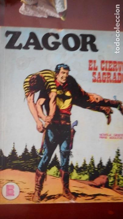 ZAGOR Nº 17 (Tebeos y Comics - Buru-Lan - Zagor)
